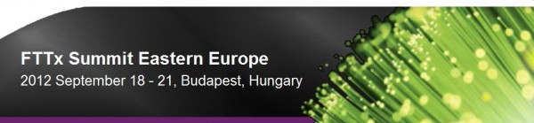 Aphaia to speak at the 2012 FTTx Eastern Europe conference