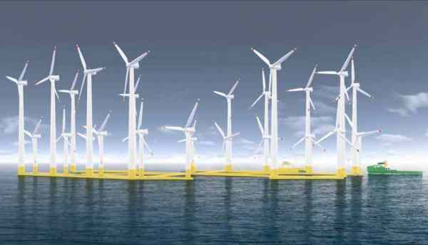 deep sea wind turbines