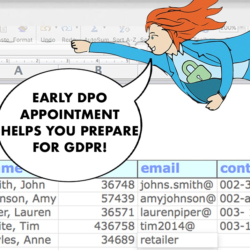 early data protection officer appointment GDPR DPO