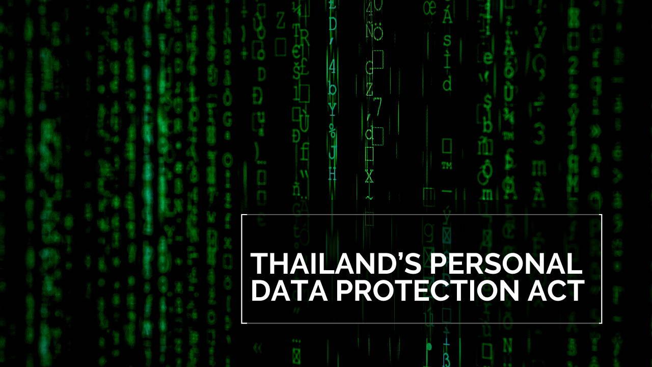 Thailand Personal Data Protection Acr