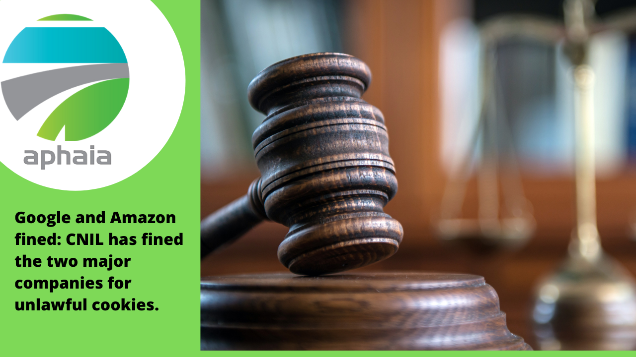 Google and Amazon fined