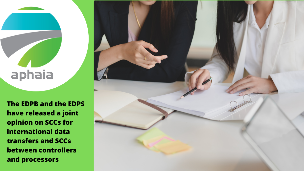 The EDPB and the EDPS