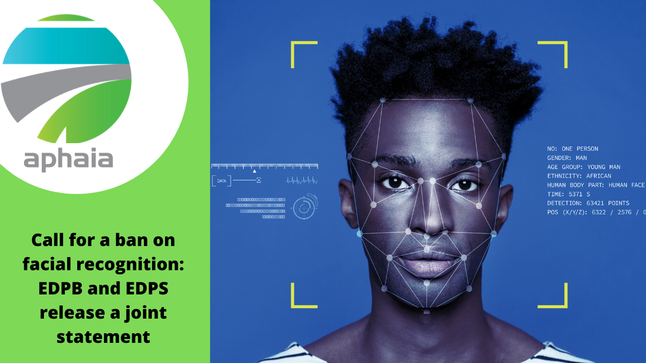 Call for a ban on facial recognition